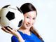 清纯足球宝贝助阵 台电世界杯大促销